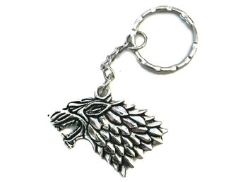 Nyckelring House Stark Game Of Thrones Wolf Varg