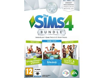 The Sims 4 - Spa Day Bundle (SE)(Code in a Box)