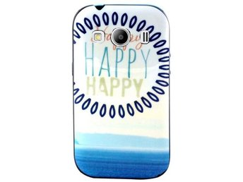 Samsung Galaxy Ace 4 TPU Skal Happy