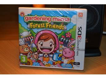 Gardening Mama Forest Friends 3DS Nintendo Ny