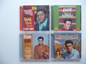 "Javascript är inaktiverat. - Göteborg - 4 st CD Med Elvis Presley ""Girls,Girls,Girls"" (1962) ""Fun In Acapulco"" (1963) ""Viva Las Vegas / Love In Las Vegas"" (1964) ""Roustabout"" (1964) - Göteborg"