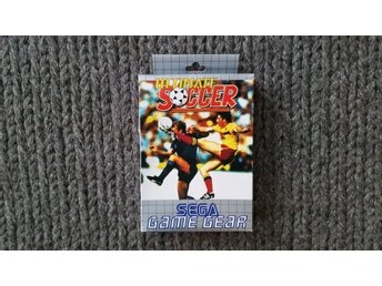Ultimate Soccer  - Sega Game Gear