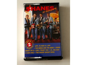 Shanes / 60-tals party - Let´s Dance 2 kassettband 1992