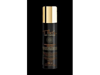 Vårdande GOLDEN BEAUTY ANTI AGE Brun utan sol spray fr Italienska Thatso NY!