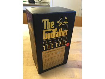 The Godfather 1901—1959 — The Epic (3 VHS) — Gudfadern