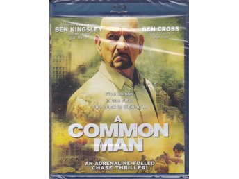 A COMMON MAN-BEN KINGSLEY-BEN CROSS-SVENSK TEXT-NY OCH INPLASTAD BLURAY-DISC.
