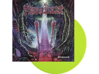 Merciless -Unbound LP green vinyl RSD 2018 ltd 300 copies