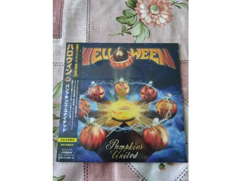 Cd. Helloween : Pumpkins United,japan cd,Limited,Michael Kiske,Kai Hansen,Deris