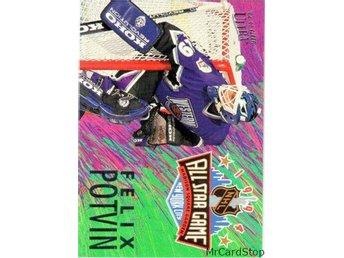 Ultra 1994-95 All-Stars 12 Felix Potvin Vancouver Canucks