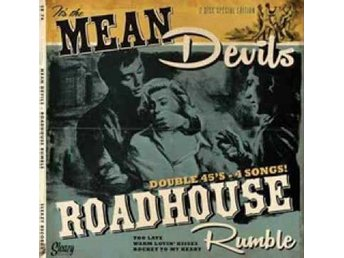 "Mean Devils - Roadhouse Rumble - 2x7"" NY - FRI FRAKT"