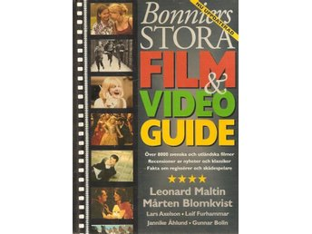 Bonniers stora film & video guide.