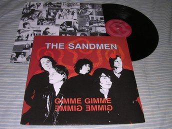 The Sandmen - Gimme Gimme (LP) alt rock 1991 EX/EX