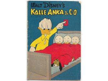 Kalle Anka & C:O 1955 Nr 4 GD- - Vikingstad - Kalle Anka & C:O 1955 Nr 4 GD- - Vikingstad