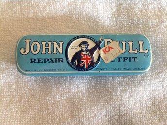 John Bull repair.../ gammalt reparations-kit för cykel-punkteringar. Fint skick. - Dalby - John Bull repair.../ gammalt reparations-kit för cykel-punkteringar. Fint skick. - Dalby