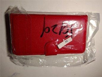 Rött plånboksfodral till LG G2 - Värnamo - Rött plånboksfodral till LG G2 - Värnamo