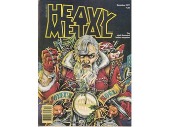 HEAVY METAL ADULT FANTASY MAGAZINE DECEMBER 1977