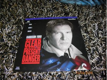 Clear and present danger AC-3 Widescreen edition 2st LD