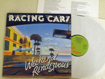 RACING CARS - Weekend Rendezvous LP Chrysalis Records 1977
