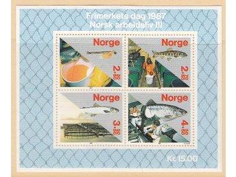 Norge 1987 Block nr 8 ** - Njurunda - Norge 1987 Block nr 8 ** - Njurunda