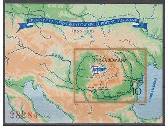 Rumänien 1981. Mnr: Block nr 177 ** - Njurunda - Rumänien 1981. Mnr: Block nr 177 ** - Njurunda