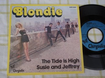 "BLONDIE - THE TIDE IS HIGH 7"" 1980"