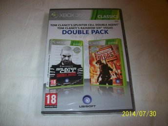 SPLINTER CELL DOUBLE AGENT & RAINBOW SIX VEGAS -NY INPLASTAD