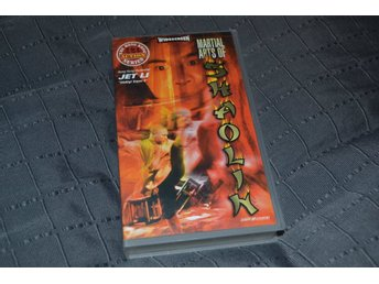 Martial Arts of Shaolin - 1987 HK Action Series VHS Svenskt