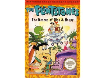 The Flintstones The Rescue of Dino & Hoppy - NES - Kassett