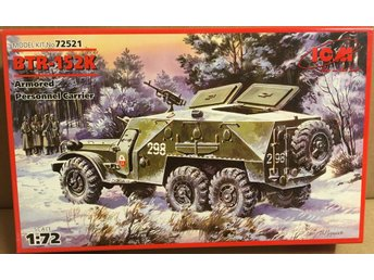 BTR-152K ARMORED PERSONNEL CARRIER        ICM  1/72  Byggsats