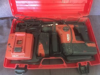 HILTI  TA 6 Drill + 2 x 36v li-ion battries + charger and case