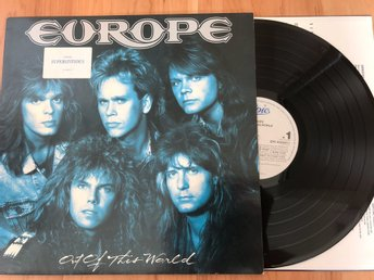Europe - Out Of This World LP EU 1988