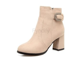 Dam Boots Boot Warm Winter Daily Soft Botas Mujer Beige 37