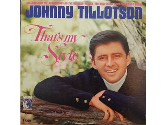 Johnny Tillotson ‎– That's My Style