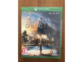 [XBOX ONE] ASSASSINS CREED : ORIGINS / NYTT & INPLASTAT
