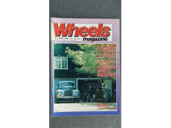 Wheels nr 4 1986: Studebaker Champion 1950, Plymouth Gran Coupé Cab 1970