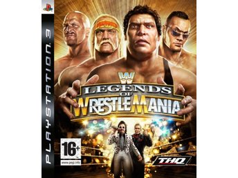 WWE Legends Of Wrestlemania - Playstation 3