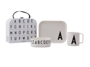 Design Letters Classics in a suitcase J