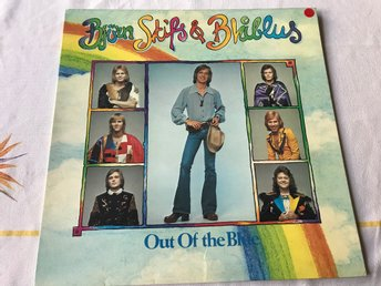 BJÖRN SKIFS & BLÅBLUS - OUT OF THE BLUE LP 1974