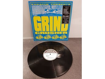 Various Artists - Grind Crusher LP 1989 - Grind Core/Death Metal