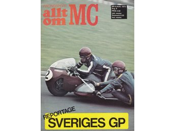 Allt Om Mc 1973-8 BMW R69S - R60/5..Honda Elsinore CR 250 M