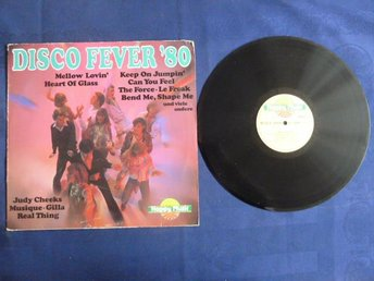 DISCO FEVER '80,  LP, LP-SKIVA