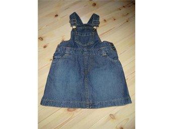 Jeans klänning i strl 80 - Sankt Olof - Jeans klänning i strl 80 - Sankt Olof