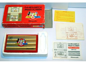 Mickey & Donald (DM-53) Nintendo Game & Watch inkl kartong och manualer