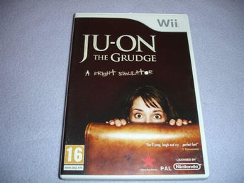 JU-ON THE GRUDGE A FRIGHT SIMULATOR NINTENDO WII