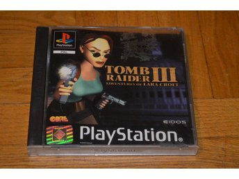 Tomb Raider III 3 - Playstation PS1