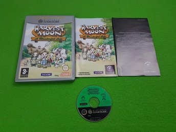 Harvest Moon A Wonderful Life ENGELSK TEXT GameCube Game Cube - Hägersten - Harvest Moon A Wonderful Life ENGELSK TEXT GameCube Game Cube - Hägersten