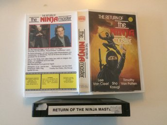 The Return of The Ninja Master (1984) - HVC