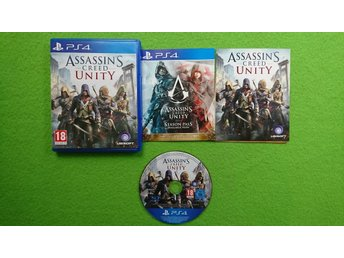 Assassins Creed Unity PS4 Playstation 4 Playstation4 PS 4 - Västerhaninge - Assassins Creed Unity PS4 Playstation 4 Playstation4 PS 4 - Västerhaninge