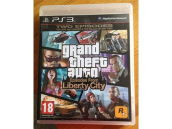 GRAND THEFT AUTO Episodes from Liberty City till PS3