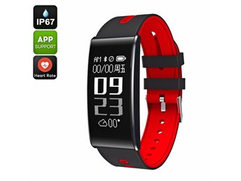 ORDO S13 Fitness Tracker Bracelet - Heart Rate, Calorie Counter, Bluetooth 4.0,